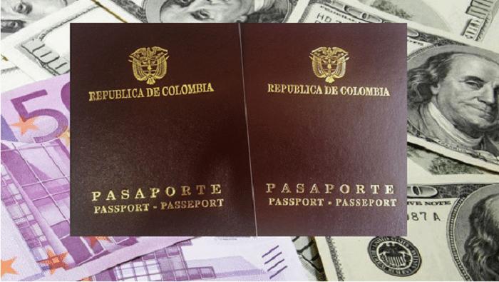 Costo de los pasaportes en Cali