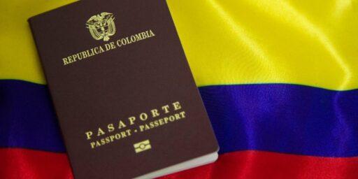 Tipos de pasaporte en Colombia
