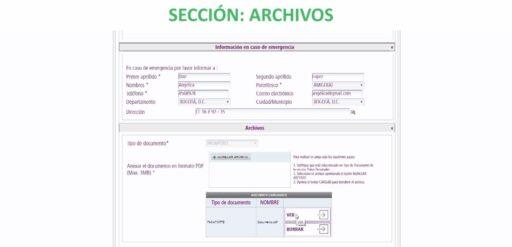 Subir archivo de documento de identidad al formulario para prórroga de permanencia online