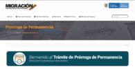 Trámite Prórroga de permanencia en Colombia